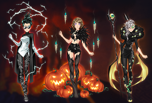 Event Halloween Eldarya 2020 Tenue bannie re halloween tenues3 | Through Eldarya