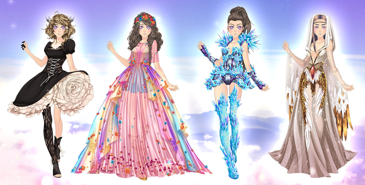 Eldarya Halloween 2020 Event Clothing Valentine's Day 2019   Through Eldarya